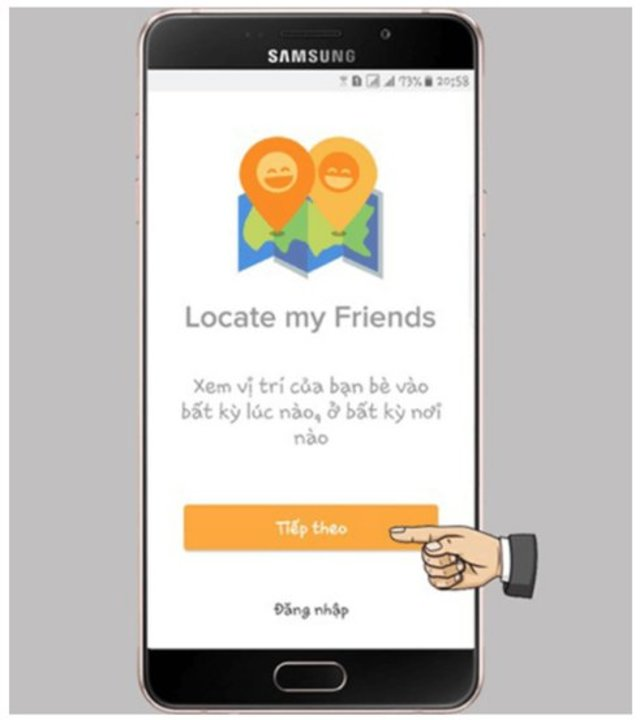 find my friend trên android 2