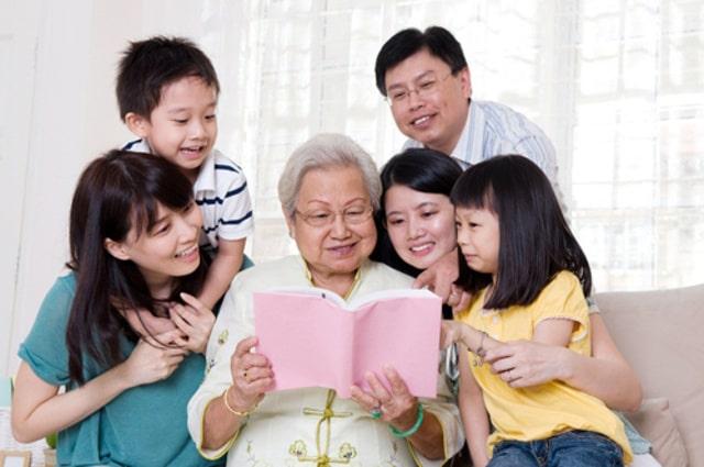 Quan tâm đến gia đình vợ