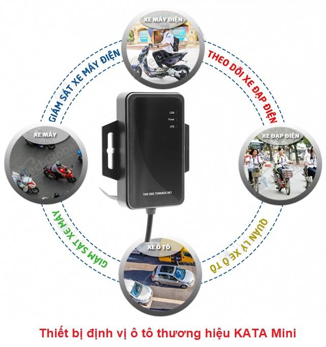 Thiết bị định vị ô tô thương hiệu KATA Mini