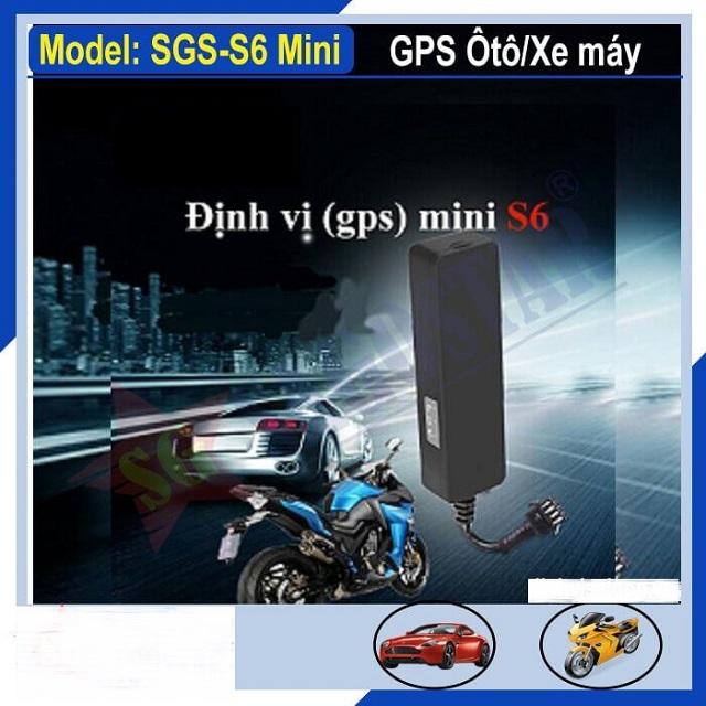Thiết bị định vị GPS mini S6 cao cấp