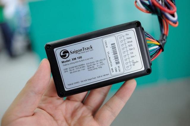 Thiết bị chống trộm GPS SaigonTrack XM100